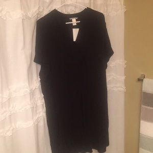 Basic H&M chiffon t-shirt dress